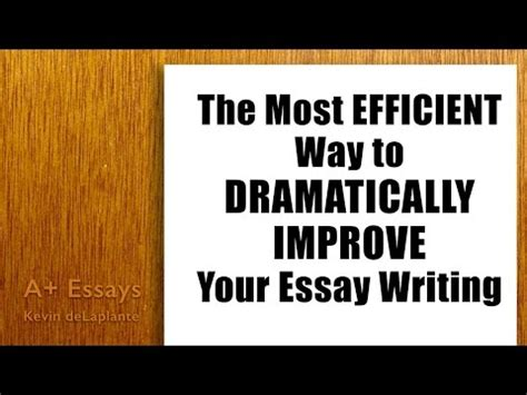 How to write amazing college essays
